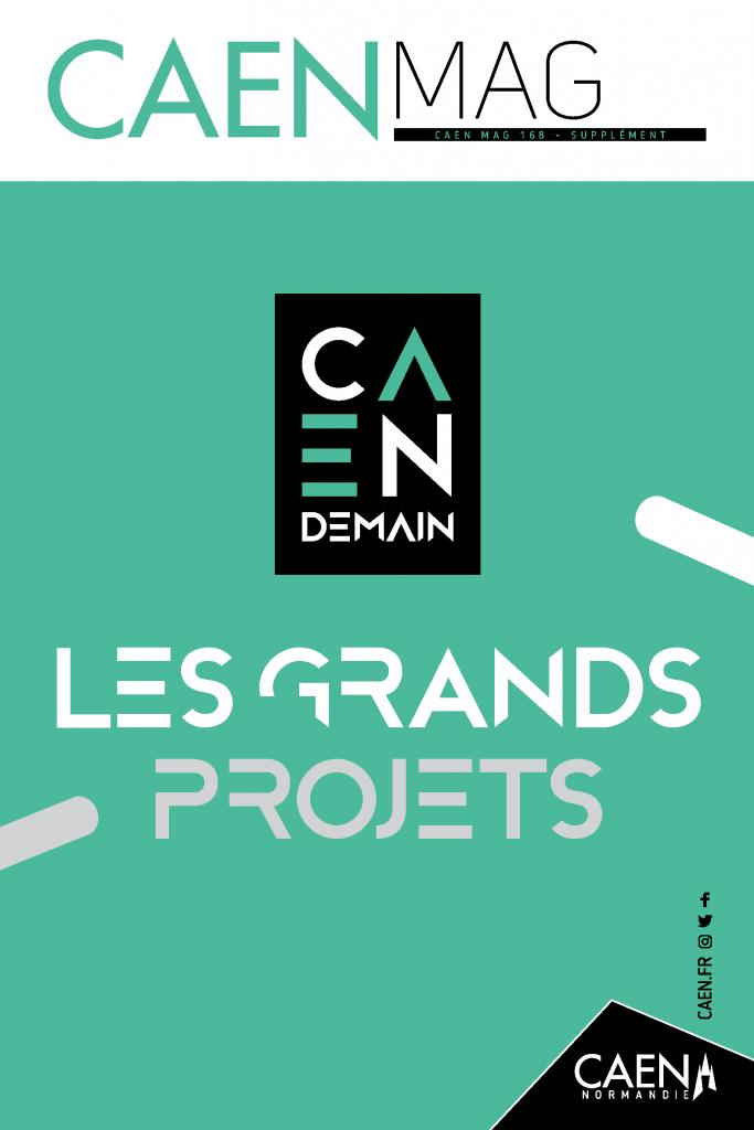 Revue de presse : L'Hôtel de Than, présenté parmi les grands projets de Caen