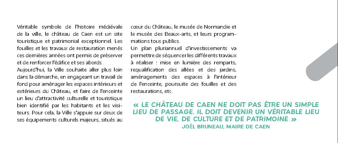 Revue de presse : L'Hôtel de Than parmi les grands projets de Caen