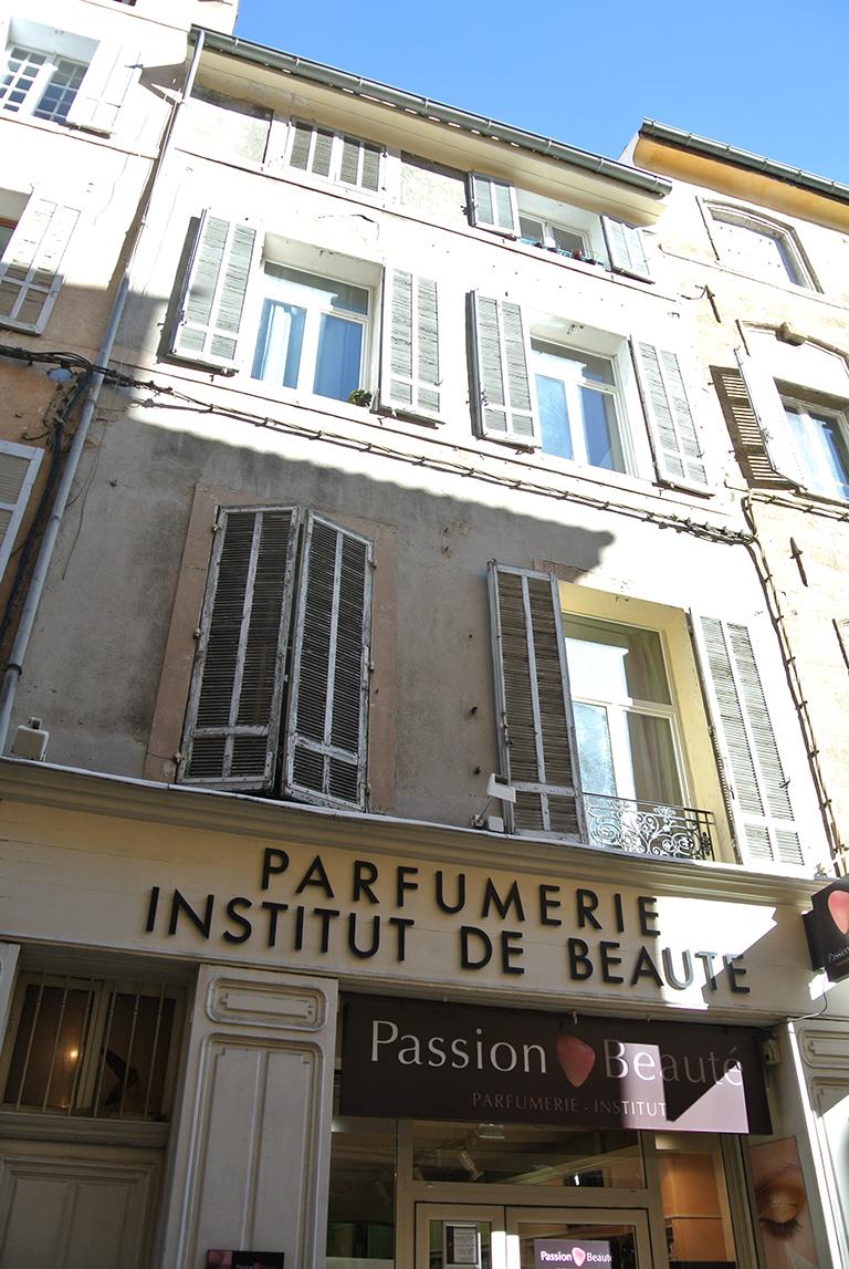 Façade rue Mignet