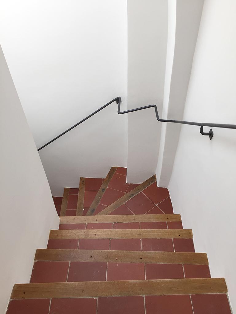 Escaliers 34 rue Mignet après livraison