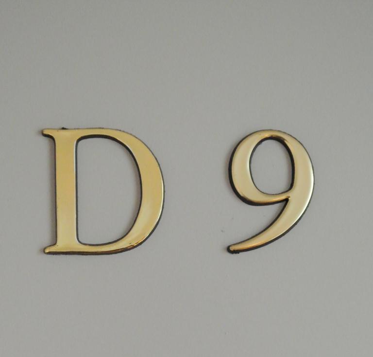 Détail porte 34 rue Mignet après livraison