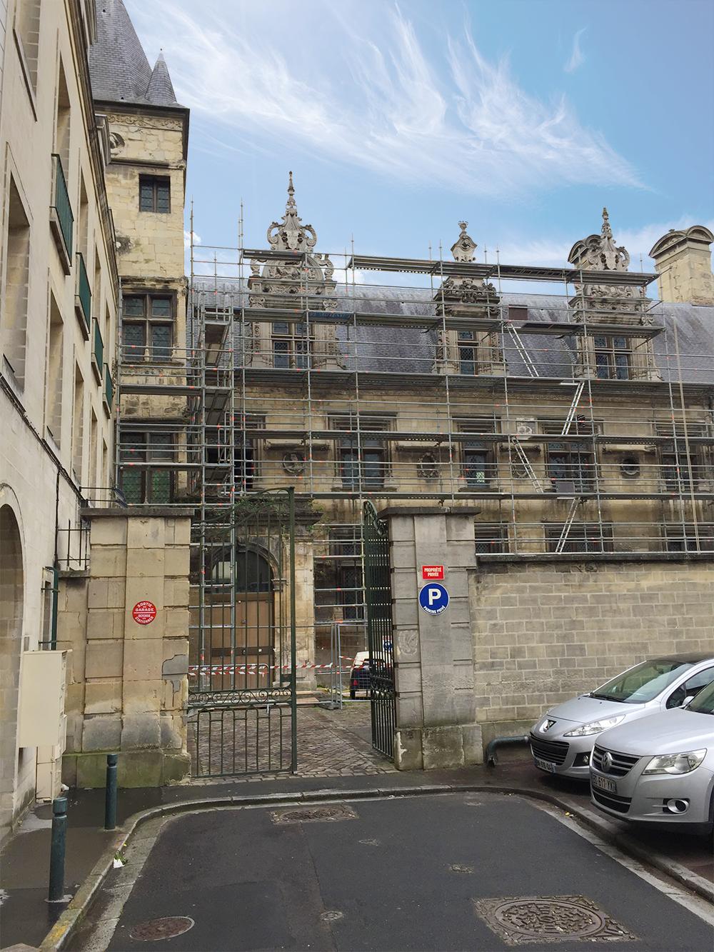 Hôtel de Than : les premières images du chantier de restauration